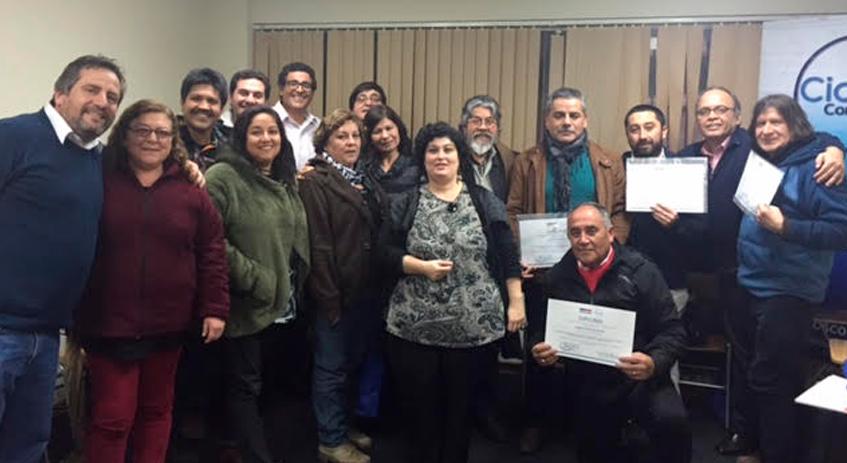 CICLOS y SENAME certifican a Educadores/as y Coordinadores/as de Centros Privativos de Libertad