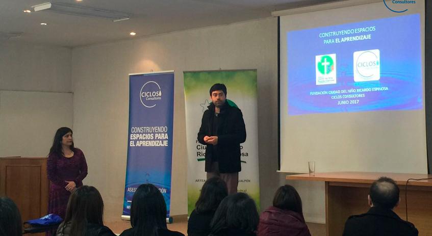 CICLOS realiza capacitación para profesionales de Fundación Ciudad del Niño Ricardo Espinosa