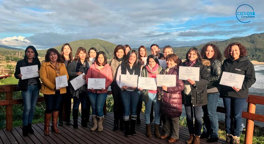CICLOS realiza curso para profesionales de la Red Chile Crece Contigo de Corral