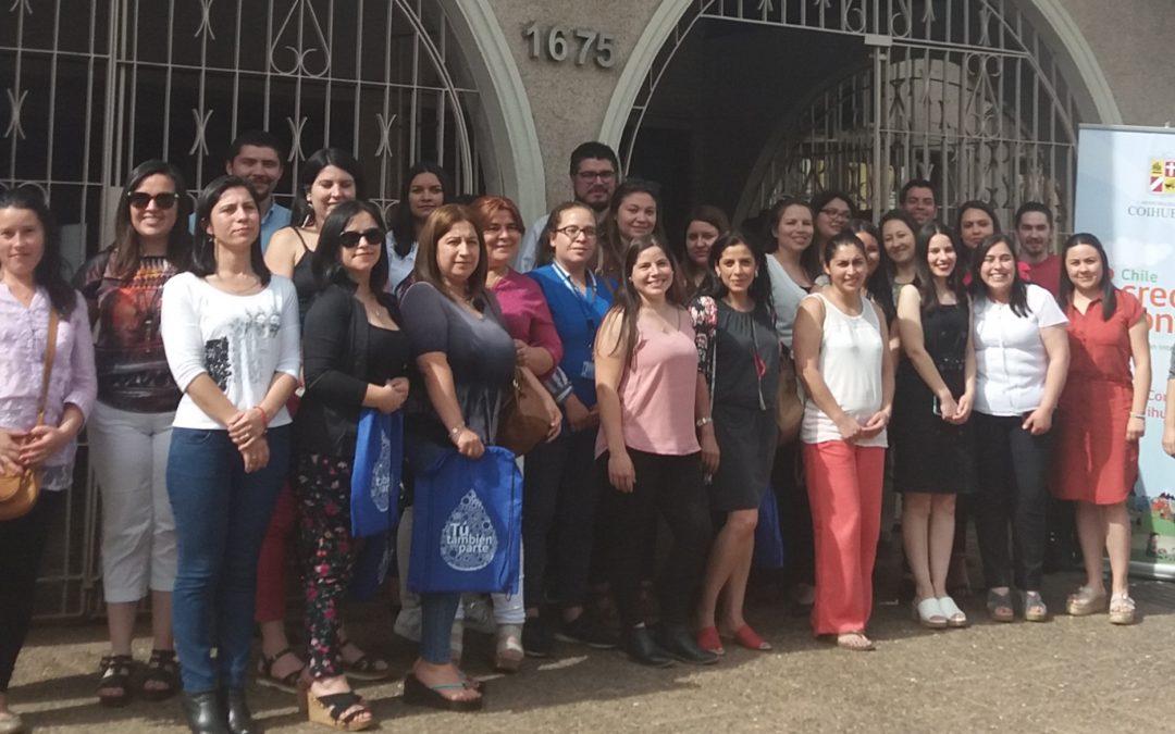 CICLOS realiza Jornada de Capacitación en la Gobernación de Ñuble