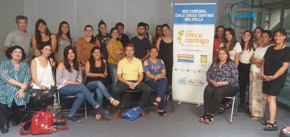 CICLOS capacita a profesionales del Programa Chile Crece Contigo Melipilla