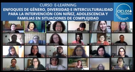 Cierre Curso Enfoques de Género, Diversidad e Interculturalidad.