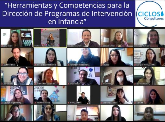 CICLOS imparte Curso Online en Competencias Directivas para los Programas de la Fundación CRATE