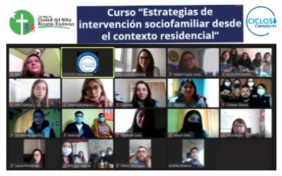CICLOS imparte Curso en Intervención Sociofamiliar para Residencias de Fundación Ricardo Espinosa