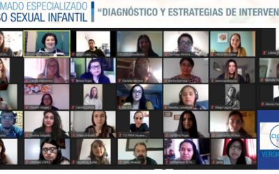 Inauguración 12va versión del Diplomado Especializado Abuso Sexual Infantil: Diagnóstico y Estrategias de Intervención