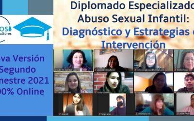 CICLOS inicia la 13va Versión del Diplomado Especializado Abuso Sexual Infantil: Diagnóstico y Estrategias de Intervención.